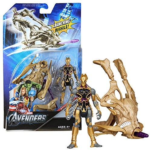 Marvel Year 2012 The Avengers Movie Series 5 Inch Tall Actio