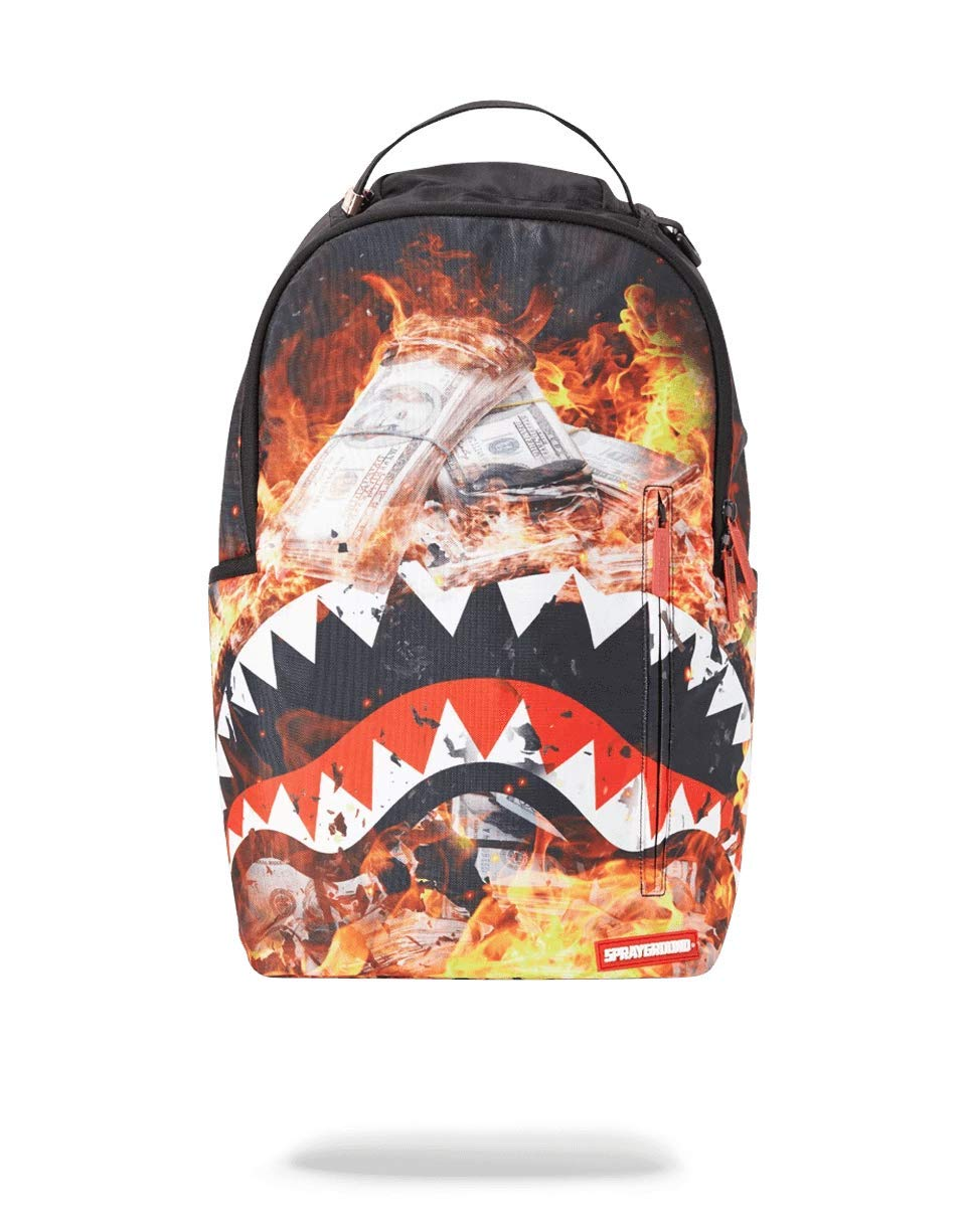 SPRAYGROUND BACKPACK FIRE MONEY SHARK by Sprayground