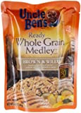 Uncle Ben's, Ready, Whole Grain Medley, Brown & Wild Rice, 8.5oz Pouch (Pack of 6)
