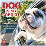Sellers Publishing 2018 Dog Is My Copilot - Photographs By Chris Becker Wall Calendar (CA0124)