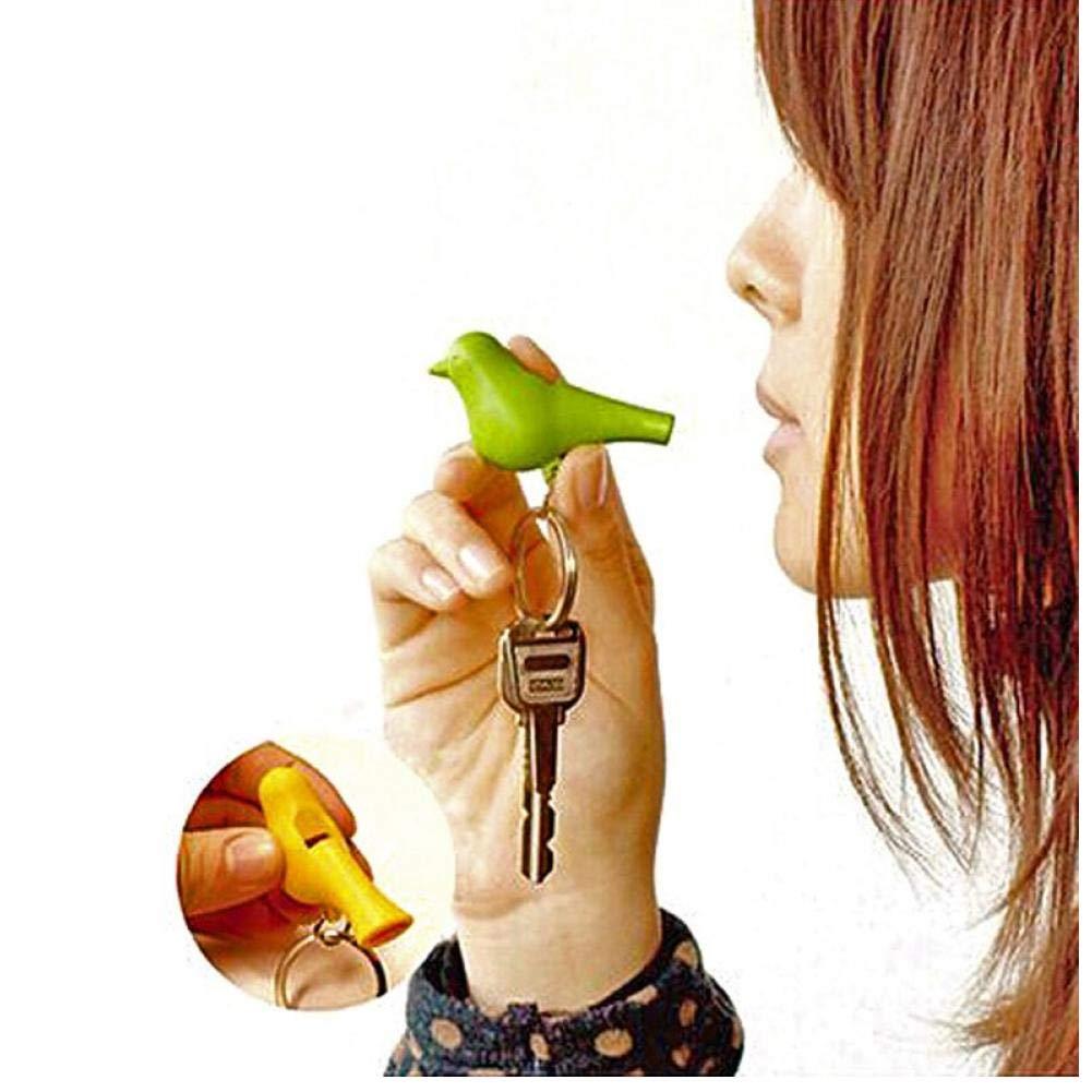 Oulensy Stile Portachiavi per Il Montaggio a Parete Key Chain Coppia Chiavi del fischio delluccello del Gancio di plastica Sparrow Portachiavi Wall Sticker