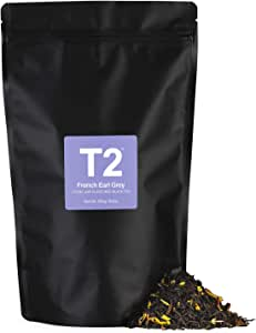 T2 Tea French Earl Grey Loose Leaf Black Tea in Foil Refill Bag, 250g