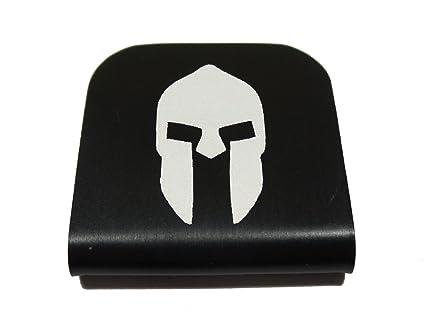 Amazon.com   Spartan Helmet Morale Tags Hat Clip for Tactical Patch ... c0d5ec76674