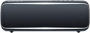 Sony SRS-XB22 Portable Bluetooth Speaker: Compact Wireless Party Speaker with Flashing Line Light - Waterproof and Shockproof Loud Audio for Phone Calls Bluetooth Speakers - Black - SRS-XB22/B