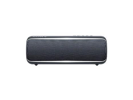 Sony SRS-XB22 Extra Bass Portable Bluetooth Speaker, Black (SRSXB22/B)