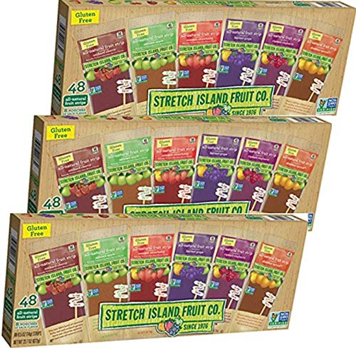 Stretch Island Fruit Leather Variety Pack 144-Count, 0.5-Ounce Package by Stretch Island