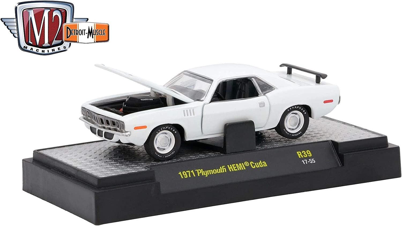 M2 Machines 1:64 Detroit Muscle Release 39 1971 Plymouth HEMI Cuda
