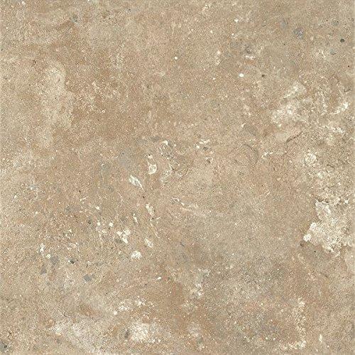 (Armstrong Aztec Trail Alterna Vinyl Tile Flooring, Almond Cream/FPD2160261)
