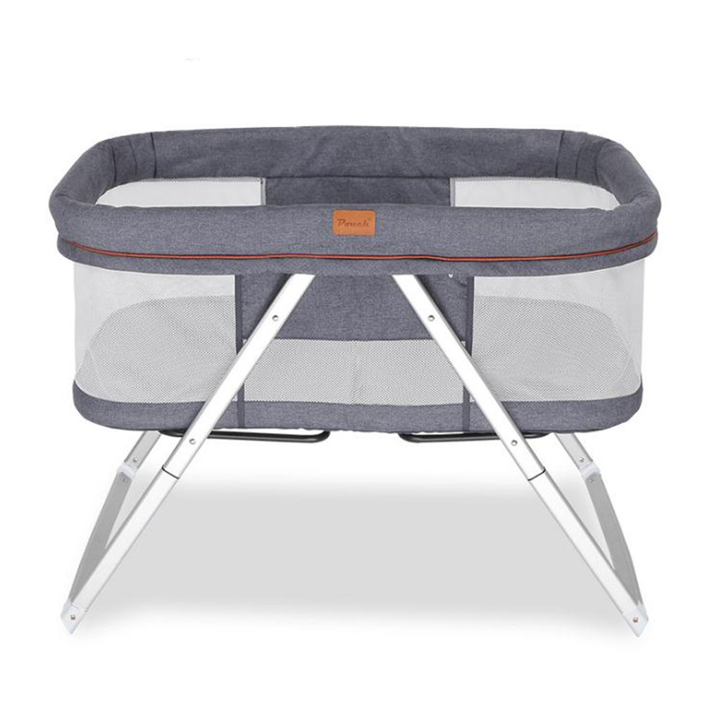 Children's Multi-Function Cradle Bed,Yannuo Baby Bed Collapsible Portable Travel Cradle. (Gray) by Yannuo