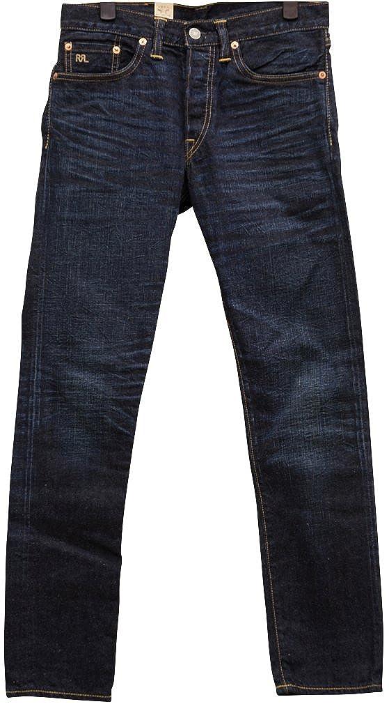 (ダブルアールエル) RRL Caldwell スリム ナロー セルビッジ ジーンズ メンズ Slim Narrow Selvedge Jean 並行輸入品 [並行輸入品] B06WP9MQRM   30W x 30L