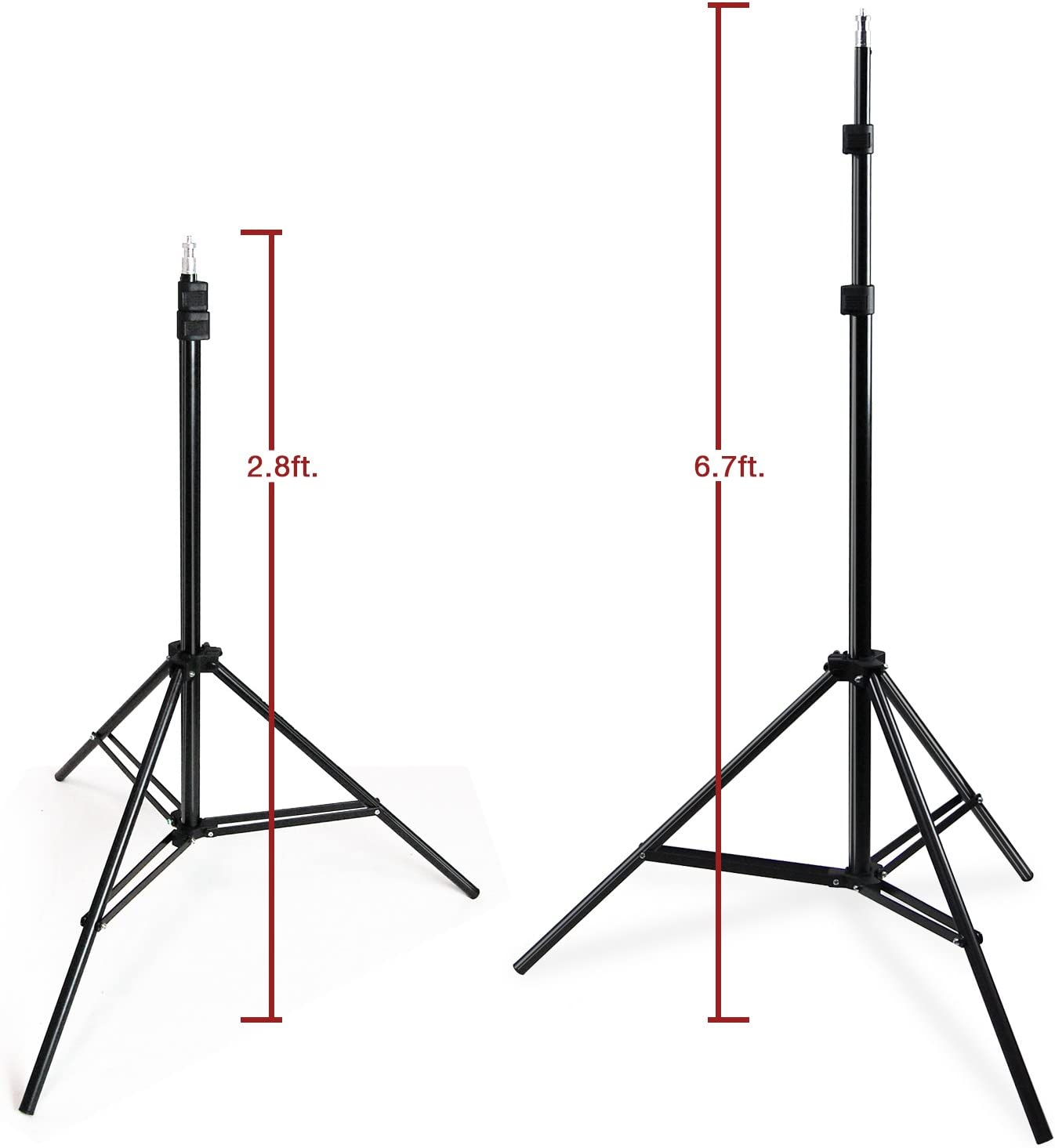 AGG2695 LimoStudio Adjustable Photography Studio Light Stand with 86.5 Max Height and Convenient Carry Case Bag for Photo Video Lights and Equipment
