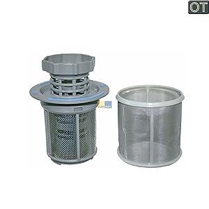 Housing Mesh Cover ZANUSSI Genuine Dishwasher 2 Piece Central Drain Filter