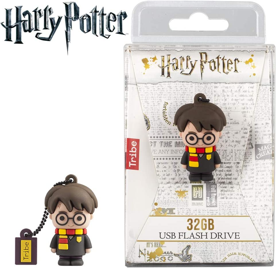 Llave USB 32 GB Harry Potter - Memoria Flash Drive Original Harry ...
