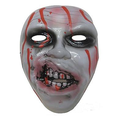 Halloween Máscara Horror Miedo Horror Demonio Parodia Asustadizo Entero Fantasma Juego Carnaval,A
