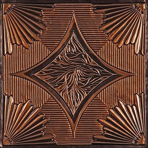 201 Ceiling Tile - (24' x 24') (Antique Copper)
