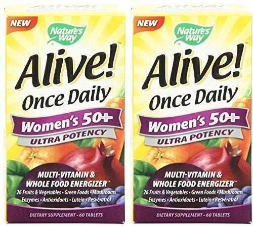 Way Alive Nature fois des femmes quotidiennes 50+ 60 X 2