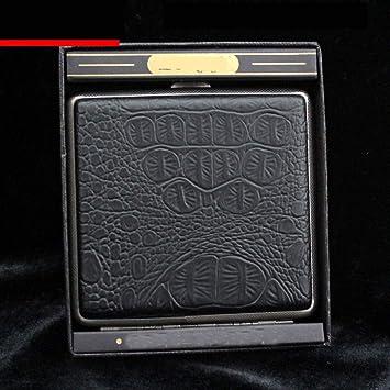 ACZZ Cigarrera Ultrafina de Personalidad Creativa, Estuche de Cigarrillos de Metal para Hombre, Regalo,F,Caja de cigarri: Amazon.es: Bricolaje y herramientas