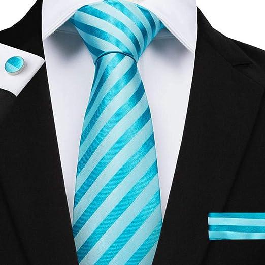 QEHWS Corbata Corbatas para Hombres Corbata Novio Fiesta De Boda ...