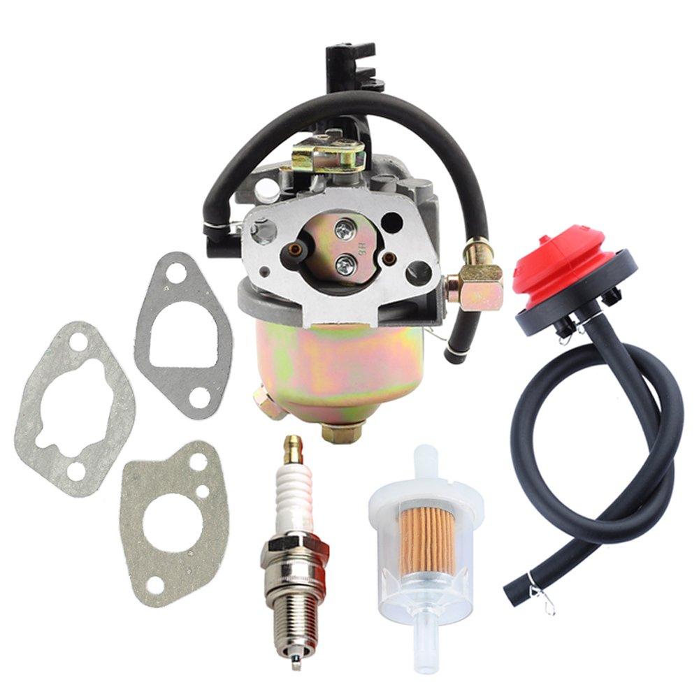 Panari Carburetor + Primer Bulb for MTD Snow Blower Troy Bilt Storm 2410 2420 2620 2690 2690XP Cub Cadet 524WE 524SWE Snowthrower by Panari