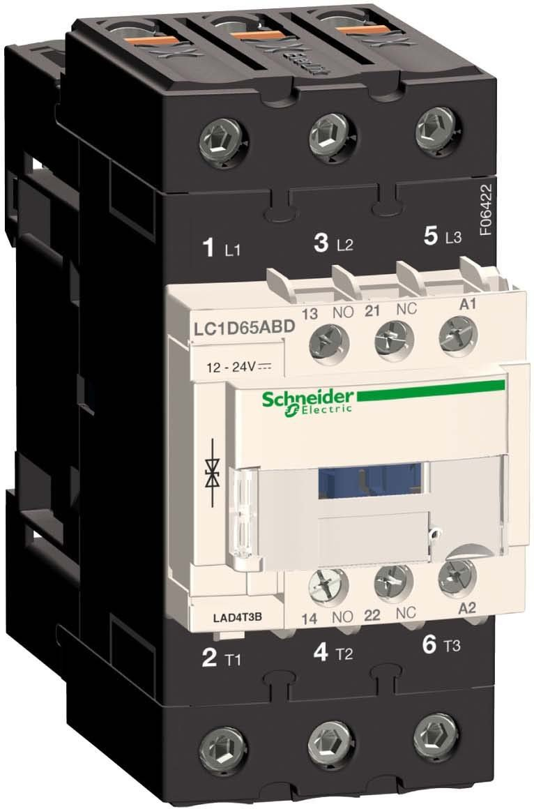 Suppressor Module 24 V Ac//Dc Tesys D Bidirectional Peak Limiting Diode Schneider Electric LAD4T3B B//D Diode 24VAC//DC