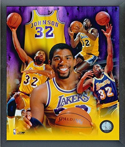 93e149e27 Image Unavailable. Image not available for. Color  Magic Johnson Los  Angeles Lakers ...