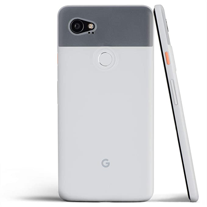 the best attitude 0214c ec294 totallee Pixel 2 XL Case, Thinnest Cover Premium Ultra Thin Light Slim  Minimal Anti-Scratch Protective - For Google Pixel 2XL (Frosted White)