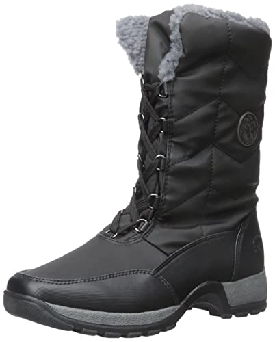 8dcd06286cf3 totes Womens Rhonda Winter Cold Weather Boots Black