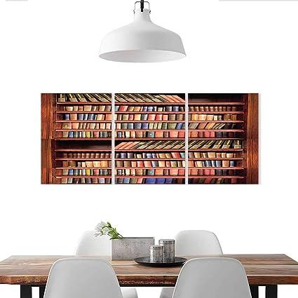 Amazon Com Auraise Home Wall Stickers Livres Anciens Sur