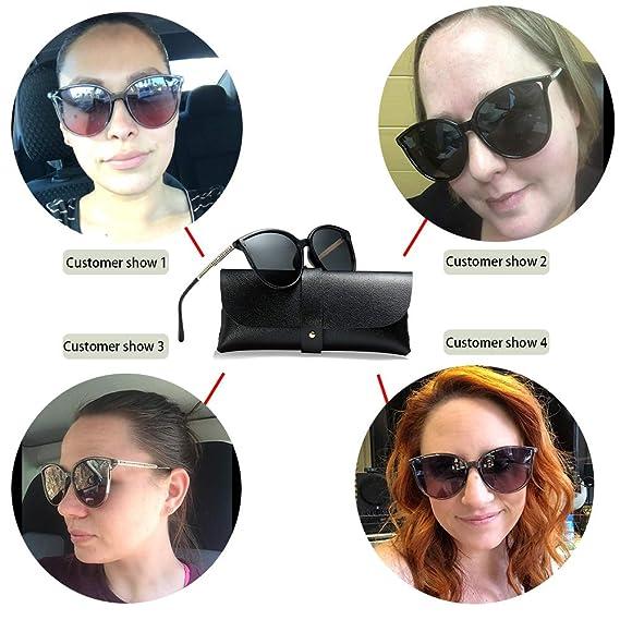 Amazon.com: Gafas de sol polarizadas para mujer, 100 ...