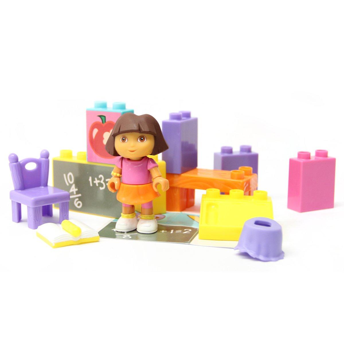 Mega Bloks 03076U Dora La Exploradora Aventura en la Escuela