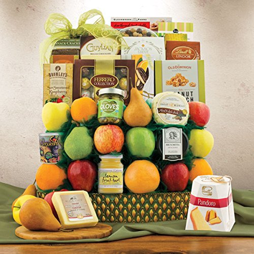 Trafalgar Square Fruit Gift Basket by Capalbo's Gift Baskets