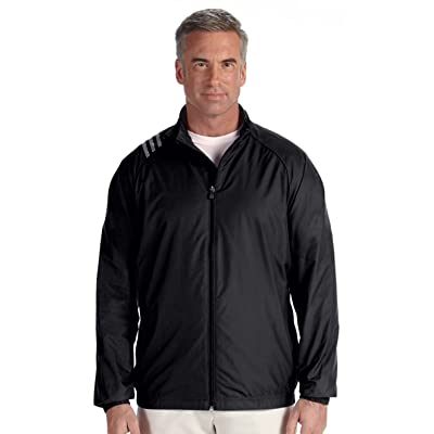 Adidas 3 Stripes Full Zip Pocket Inner Mesh Ripstop Jacket
