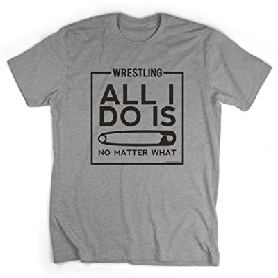 All I Do Is Pin T-Shirt | Wrestling Tees by ChalkTalk SPORTS: Clothing