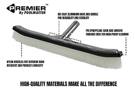 Poolmaster Aluminum Swimming Pool Brush