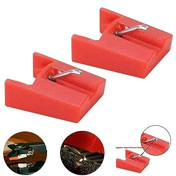 OWENFORCE - Pack de 2 agujas de repuesto con diamante para ...