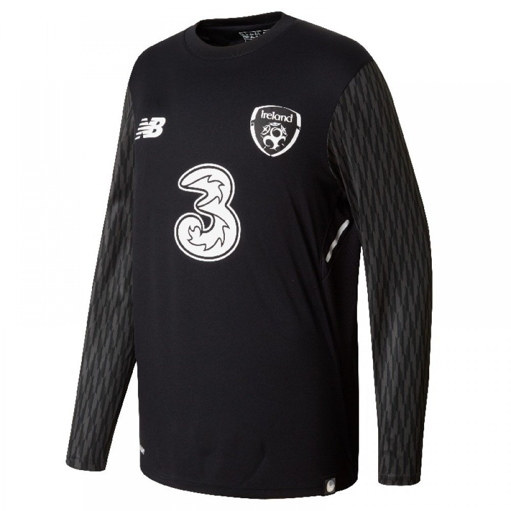 New Balance Jungen Offizielles Fai Merchandise Irland Away Goalkeeper Jersey
