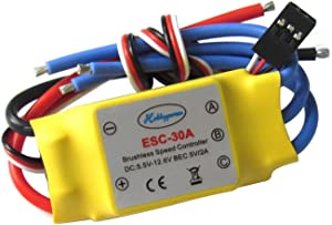 Hobbypower 30a Brushless Speed Controller ESC for X525 Multicopter Helicopter Airplane