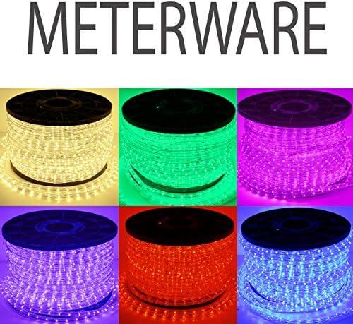 LED Lichterschlauch Lichtschlauch Lichterkette Licht Leiste Xmas Schlauch für Innen und Außen-Bereich - 1m, Meterware - Grün