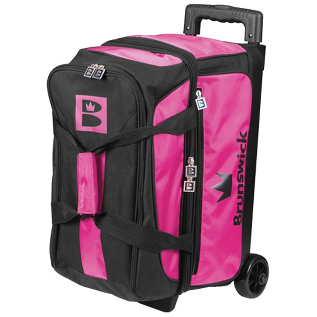 Brunswick Blitz Double Roller Pink Pink/Black by Brunswick