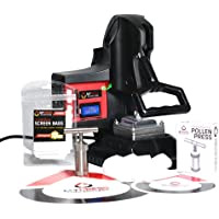 MyPress GEN 2 Deluxe Package - 25 Micron Screen Bag - Stainless Steel Pollen Press - Silicone Mat with Parchment Paper
