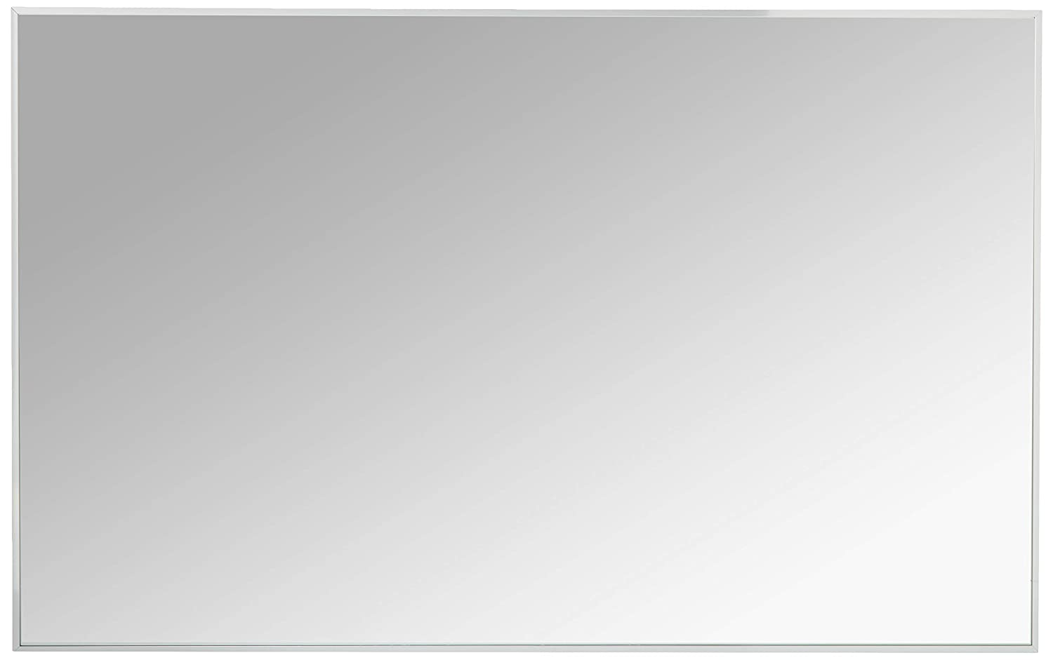 Eviva EVMR-48X30-CH Sax 48 in. Polished Chrome Wall Mirror