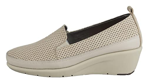 FRAU - Mocasines de cuero nobuck para mujer: Amazon.es: Zapatos y complementos