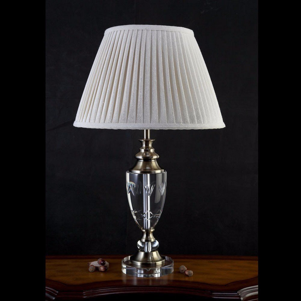 Camera abat jour lampada classico crystal lampada hotel stanza ...