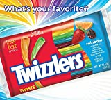 TWIZZLERS Licorice Candy, Rainbow, 12.4 Ounce