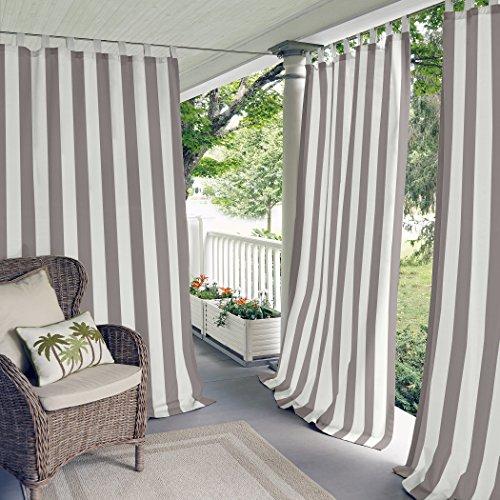 tab top curtains gray - 6