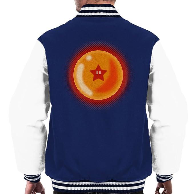 Star Ball Dragon Ball Z Mario Mens Varsity Jacket: Amazon ...