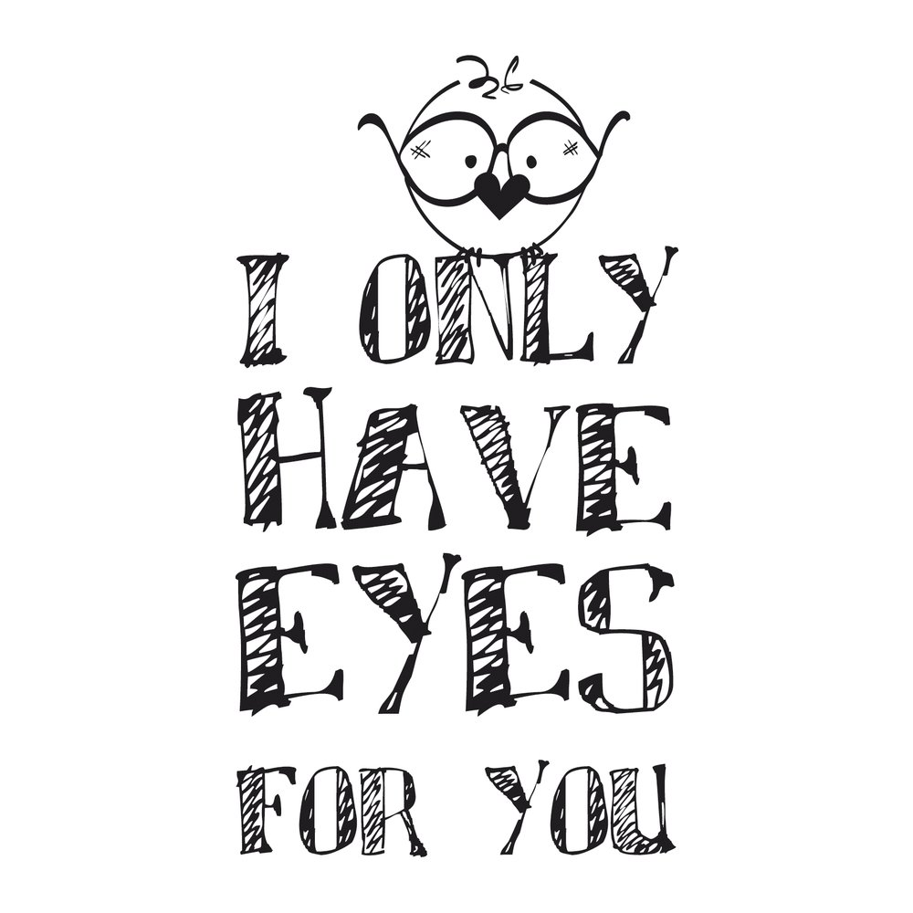 RAYHER HOBBY Rayher 29043000/Sello Eyes For You Madera 0.7/x 0.4/x 0.25/cm 4/x 7/cm