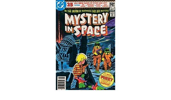 1980 Steve Ditko Jim Aparo Dan Spiegle Marshall Rogers Mystery in Space No.111