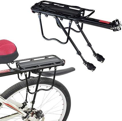 Aluminum Alloy Front Bike Shopping Storage Basket Bicycle Pannier Rack Carrier