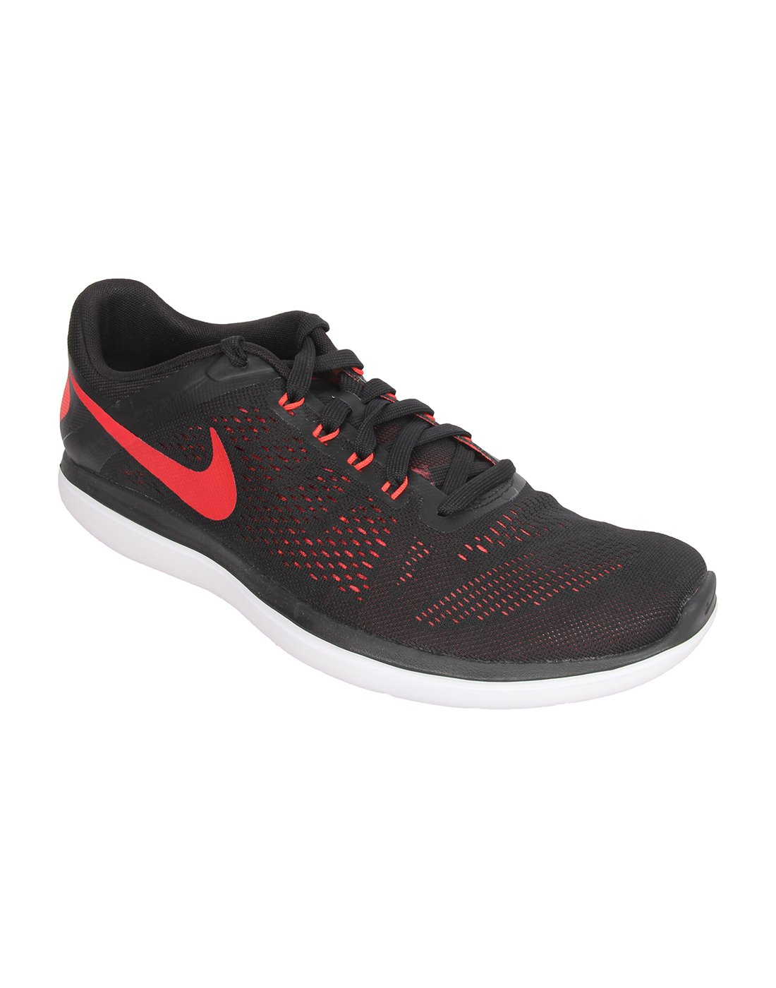 NIKE Men's Flex 2014 RN Running Shoe B01CITM11Q 9 D(M) US|Black/University Red/Ember Glow/White